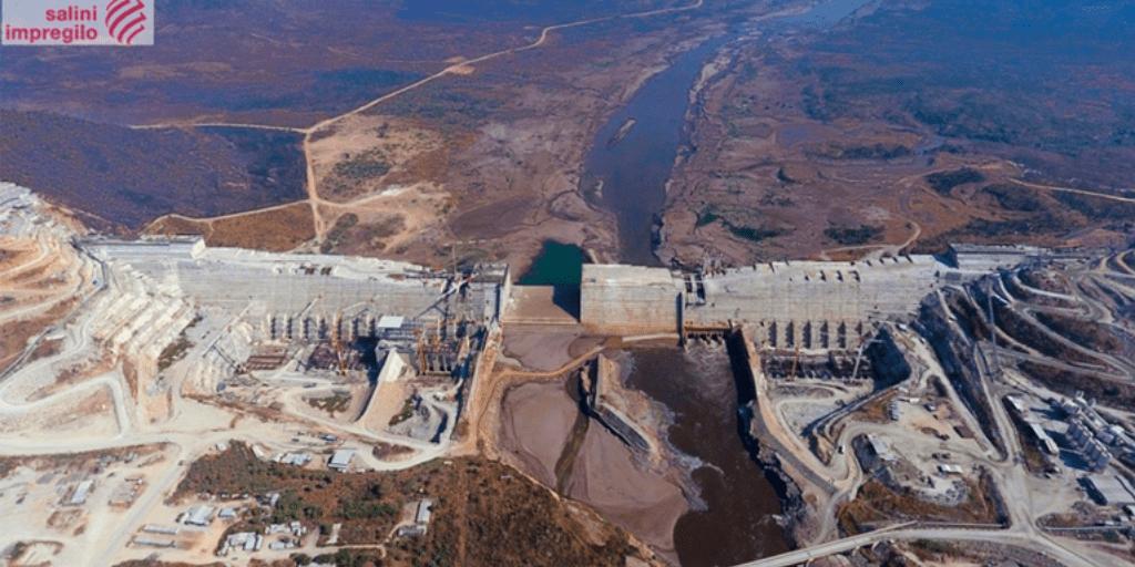 Gerd Dam Under Construction