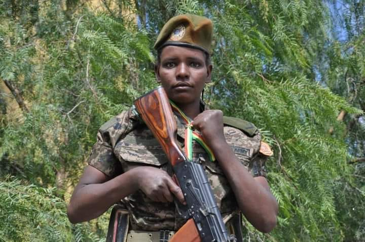 Lance Corporal Gebeyanesh Debalke