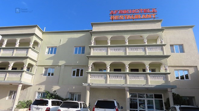 Hotel Afrik in Mogadishu