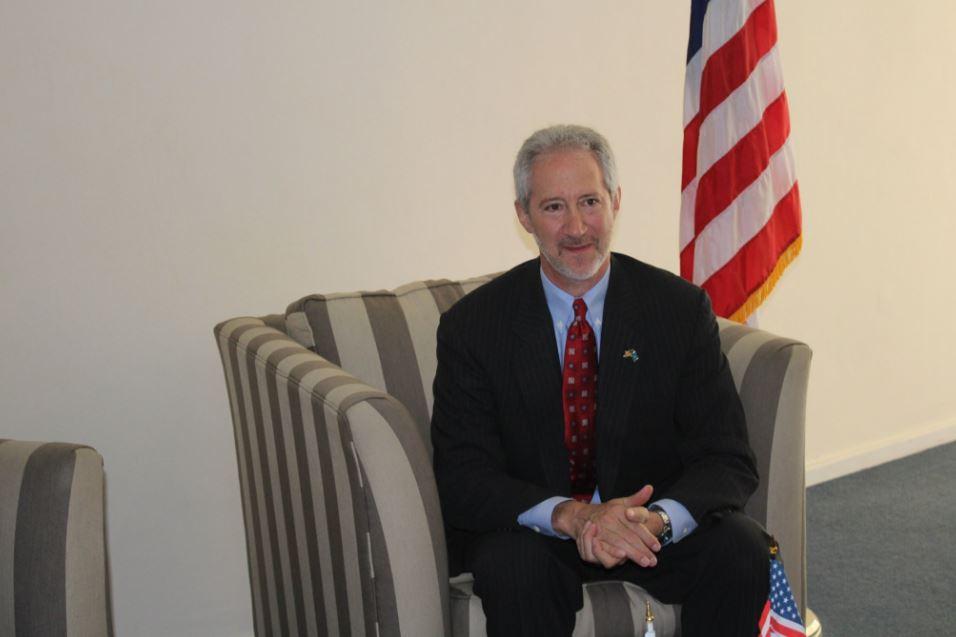 Ambassador to Somalia Stephen M. Schwartz