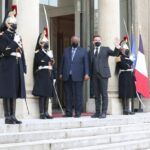 Djibouti President Ismaïl Omar Guelleh in Paris