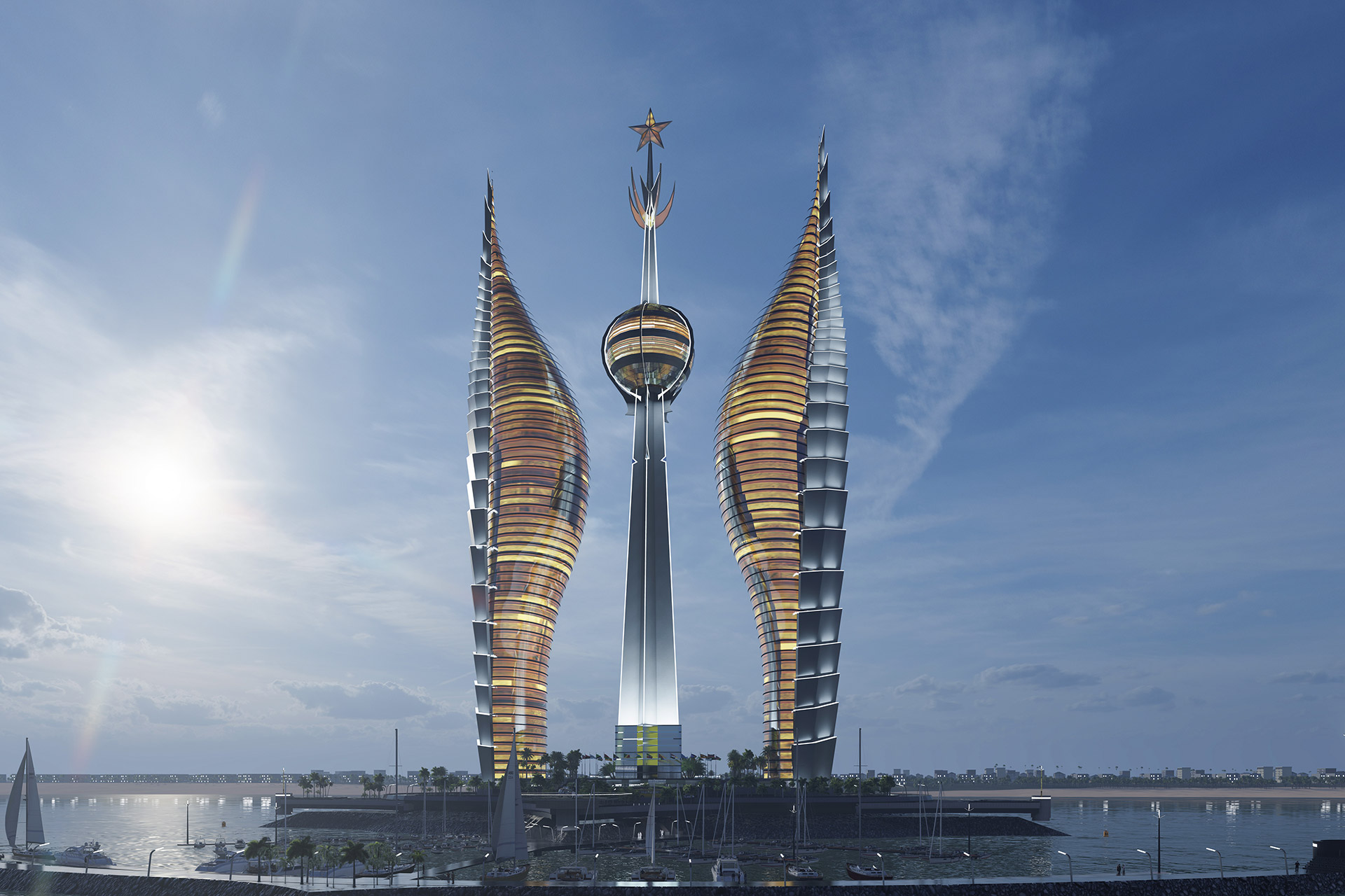 the DJIBOUTI TOWERS